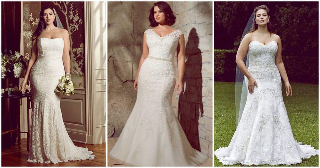 Vestidos de novia ideales para chicas curvy