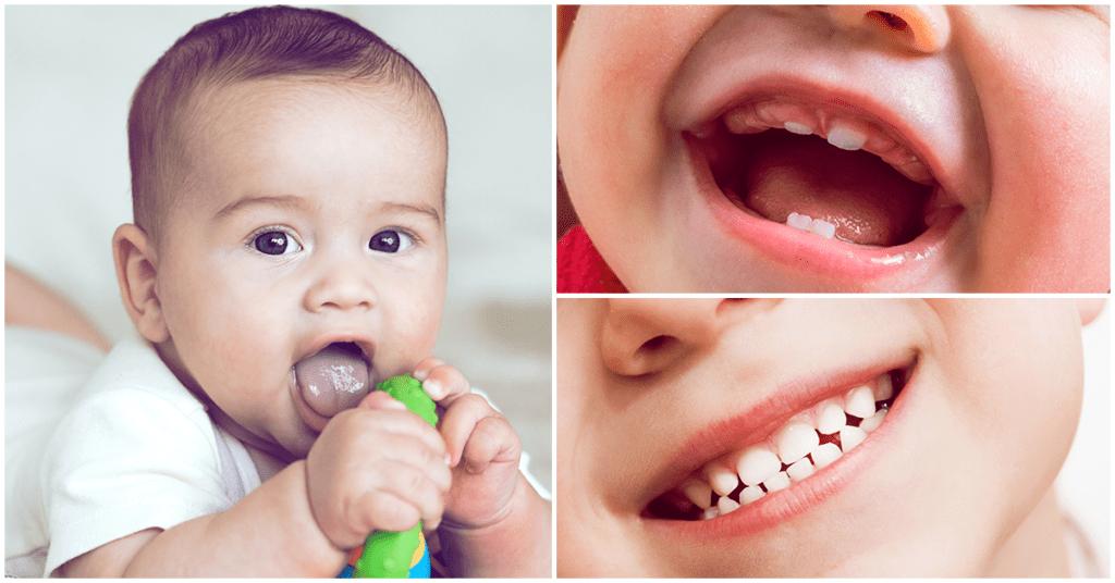 La higiene bucal es importante desde el nacimiento