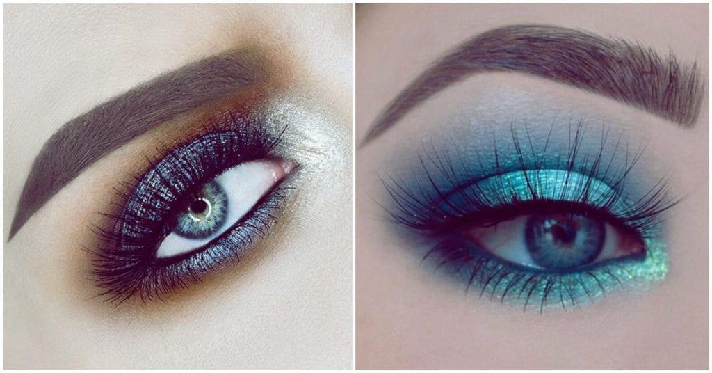 Makeup en tonos fríos para ojos azules