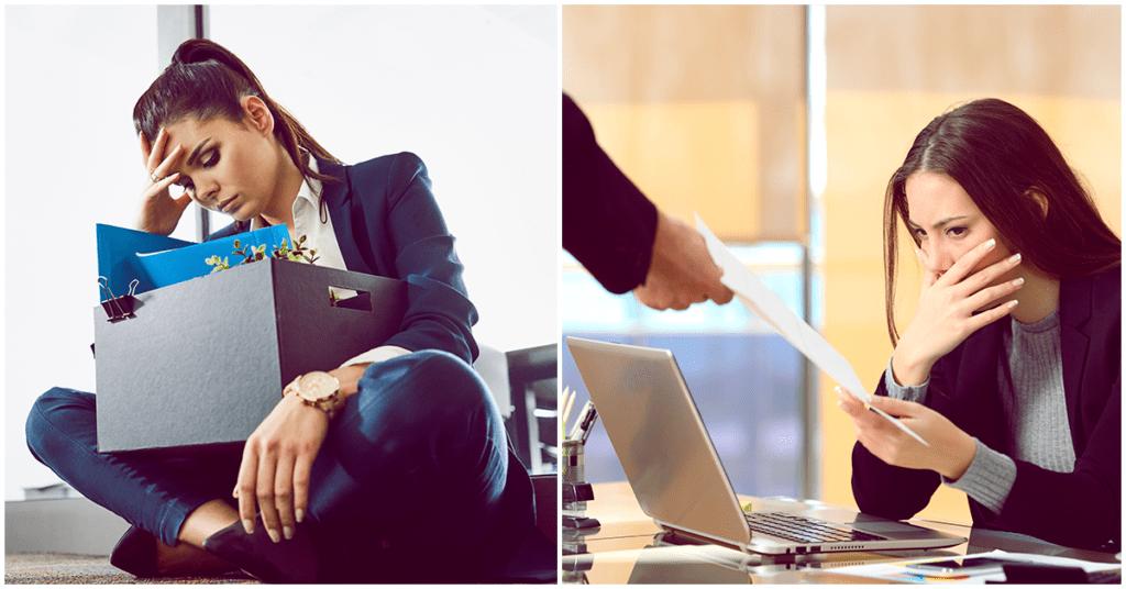 Lo que no debes hacer si te despiden de tu trabajo