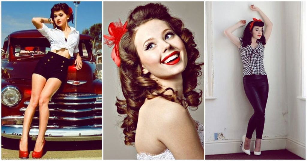Outfits para asistir a una boda pin up