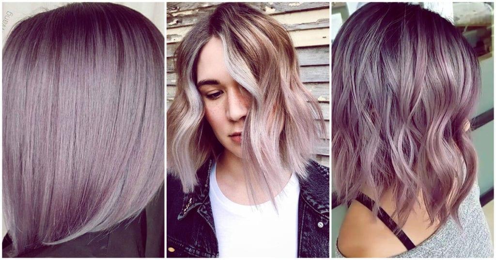 El tono para cabello que va a estar de super moda: vanilla lilac