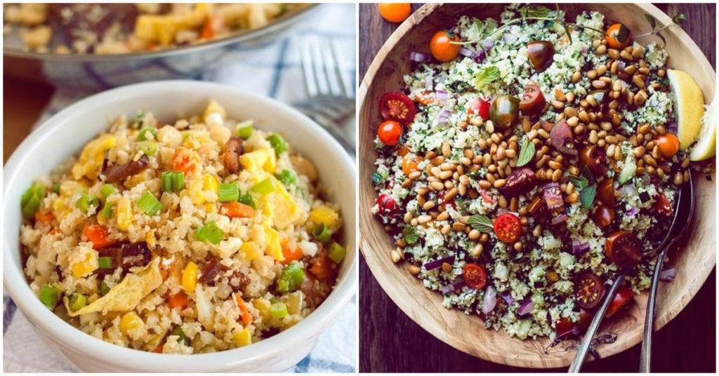 La nueva alternativa al arroz es… ¡la coliflor!