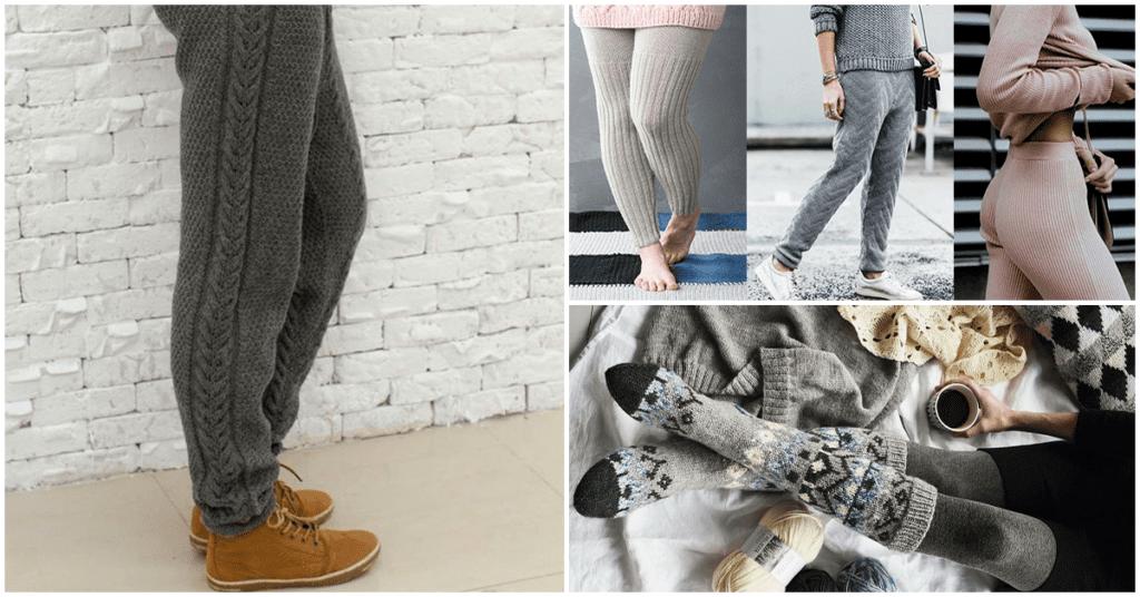 Pantalones tejidos para hombre, ¿la nueva moda?