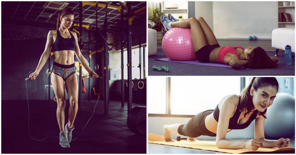 Con estos 4 ejercicios podrás bajar de peso rápidamente