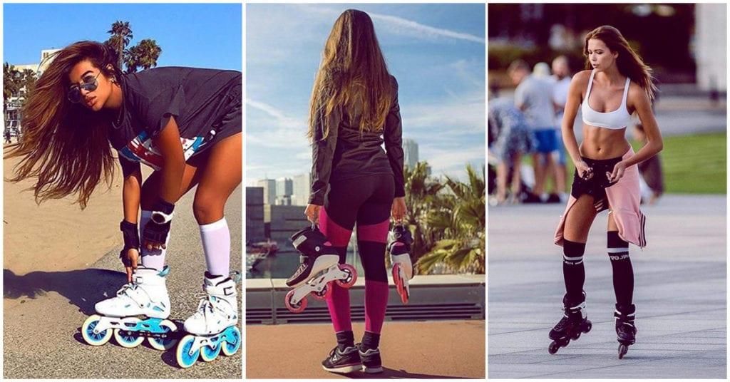 Te decimos cómo perder 5 kilos ¡patinando!