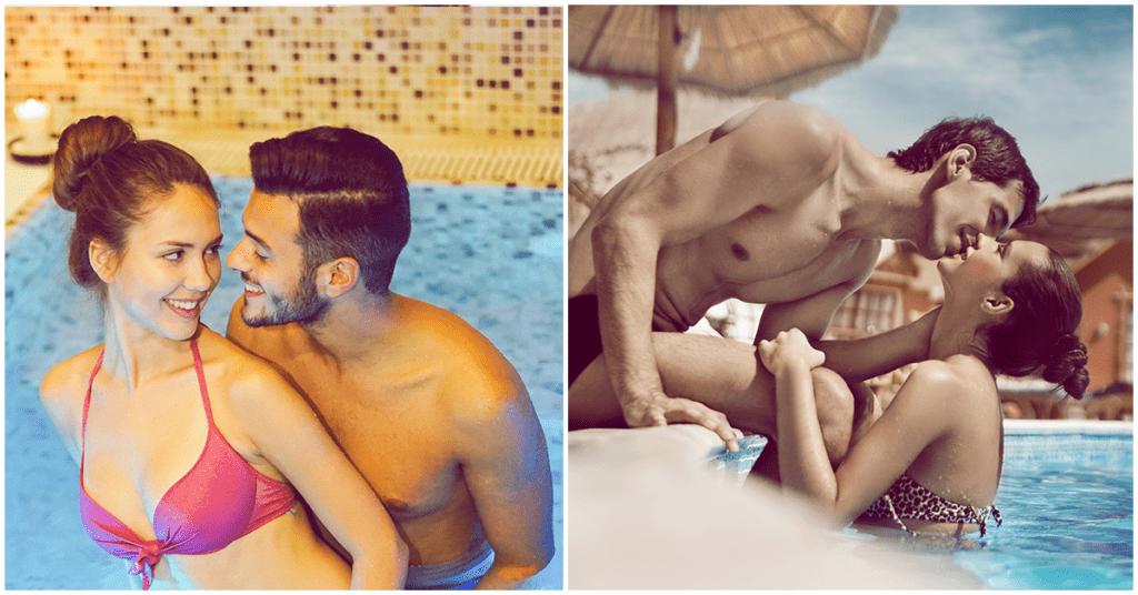 Sexo en la piscina, ¿romántico o un cultivo de ETS?