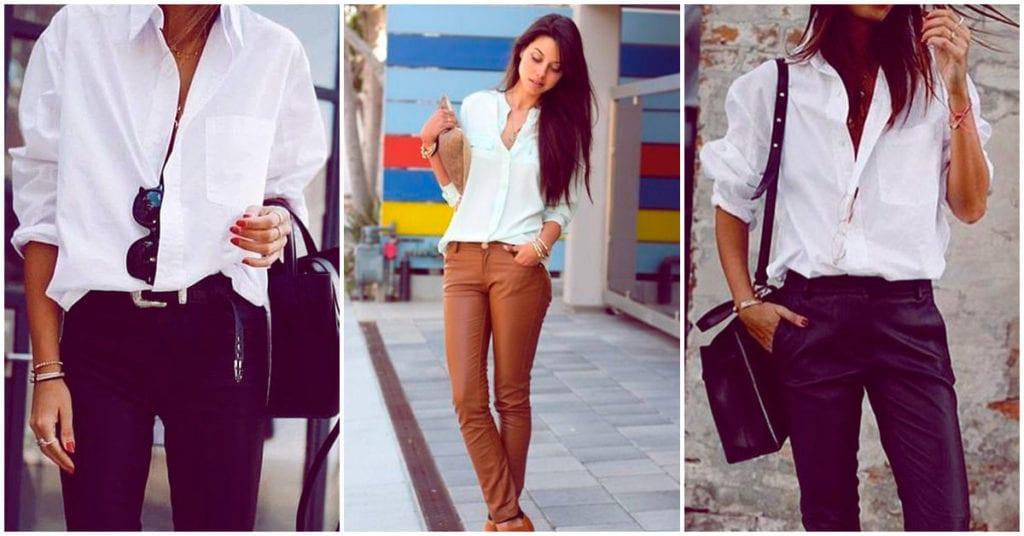 Reglas para utilizar camisas blancas a tus 20