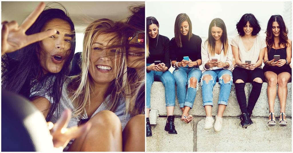Cómo influye ser la hermana mayor en la relación con tus amigas