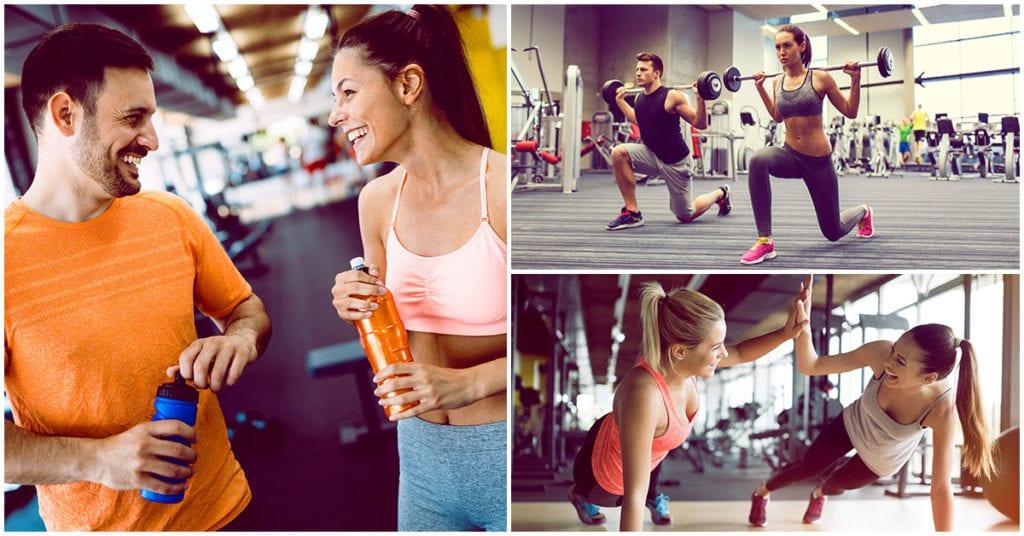 Ir al gym en pareja te hará vivir más