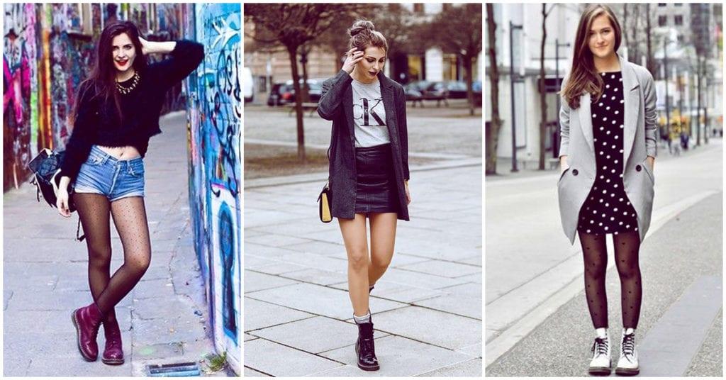 Cómo combinar unas botas rockeras y seguir luciendo femenina