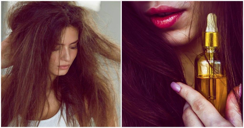 DIY: serum para evitar el frizz en el cabello