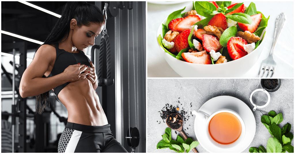 Si quieres un abdomen plano entonces prueba esta dieta
