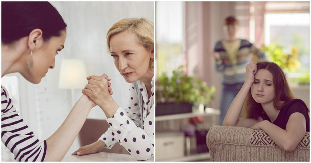 Cómo lidiar con tus suegros si eres infértil