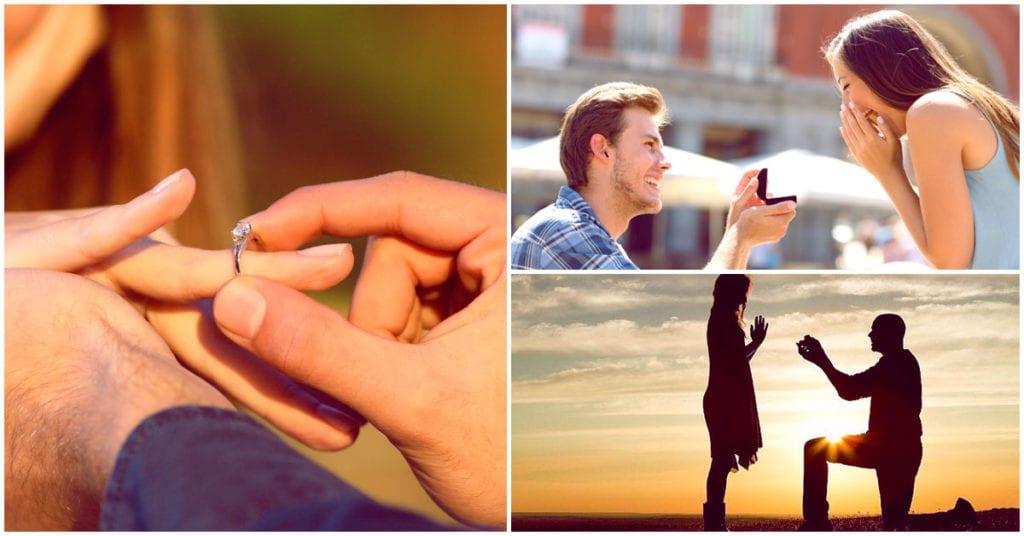 Las formas más originales de pedir matrimonio
