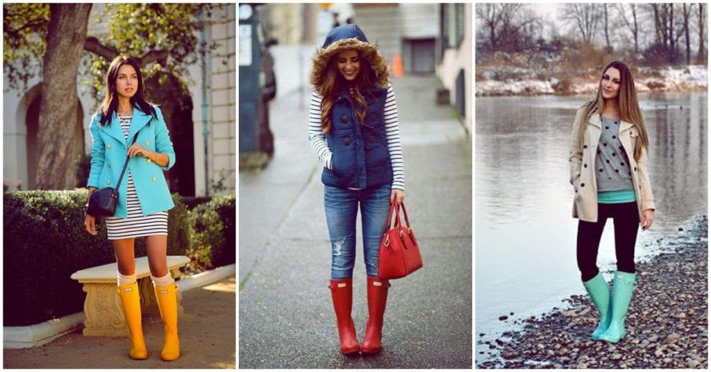 Botas de lluvia: cómo usarlas con estilo