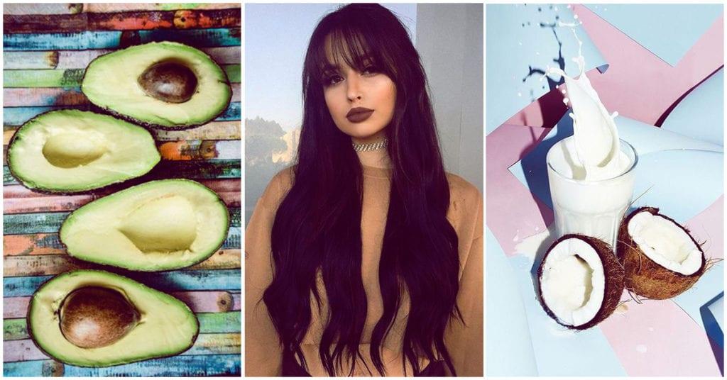 Aguacate o coco para tu cabello, ¿cuál es mejor?