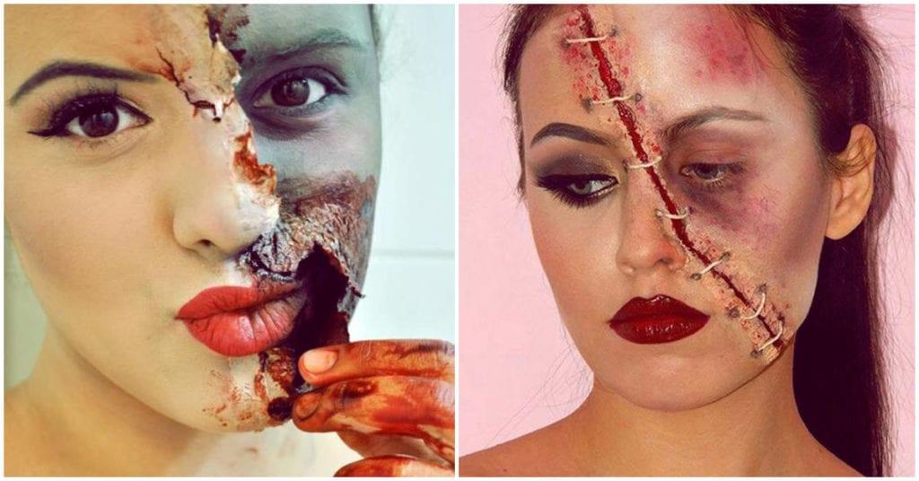 Cómo maquillarte de zombi este Halloween