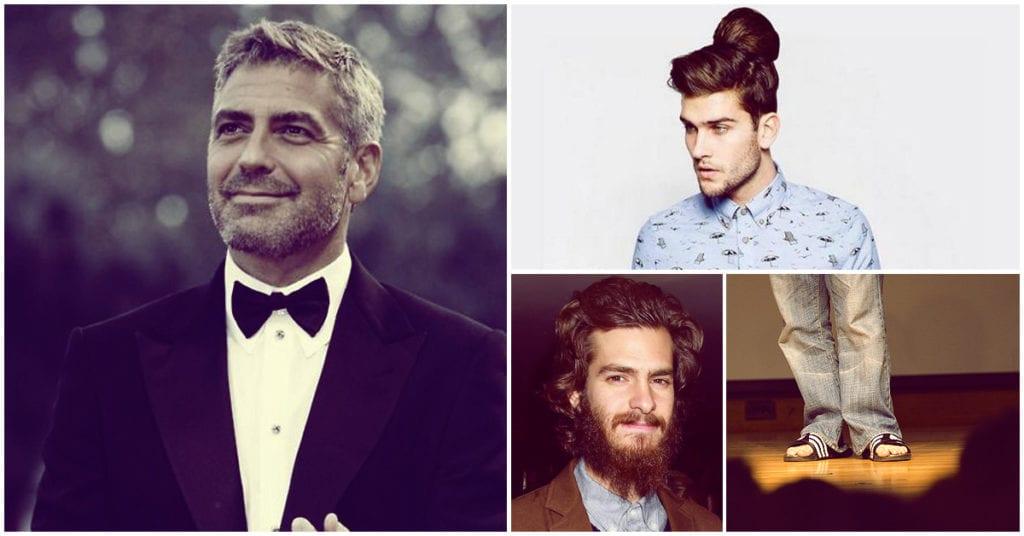 Antes los hombres se veían como George Clooney, ahora se ven… pues