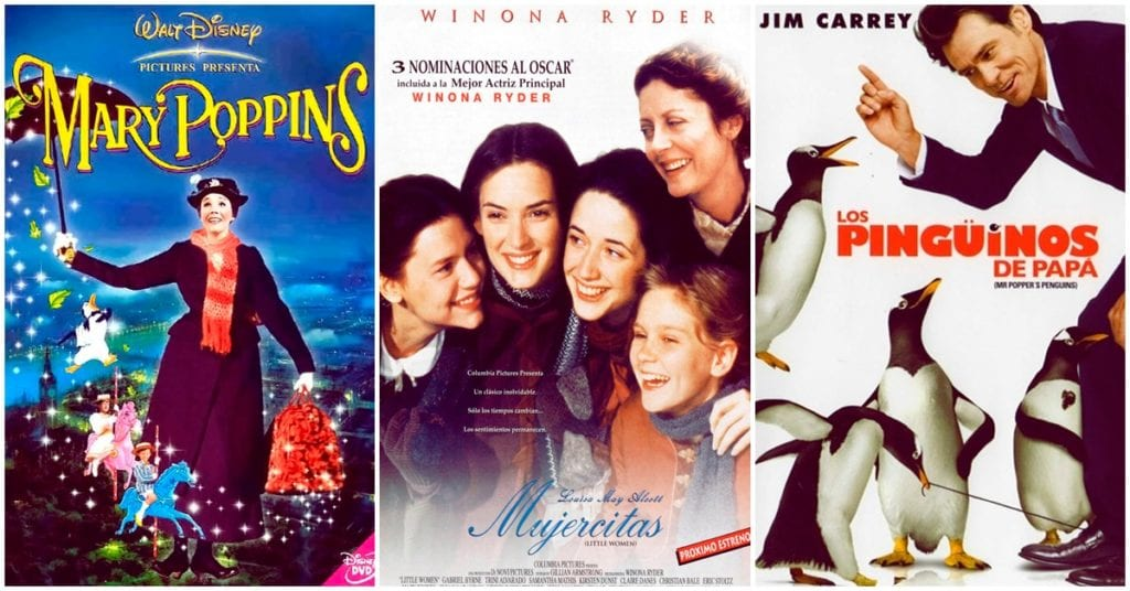 Películas que puedes ver con tu familia o amigos en Nochebuena