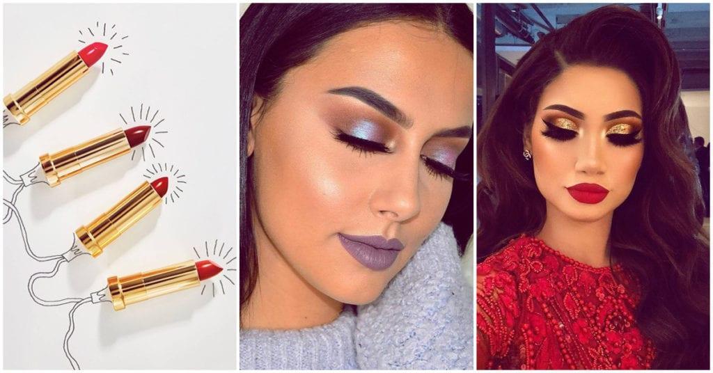 Colores de lipstick ideales para la cena de Navidad