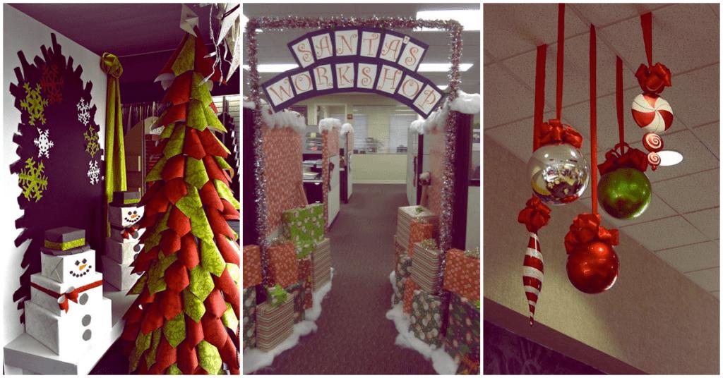 Ideas originales para darle un toque muy navideño a tu oficina