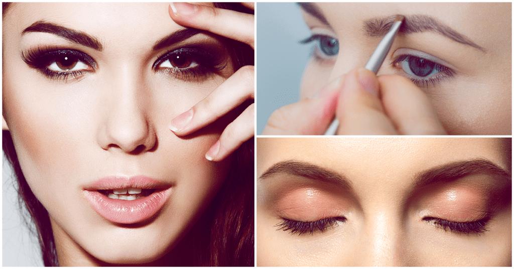 Esta es la forma correcta de maquillar tus cejas