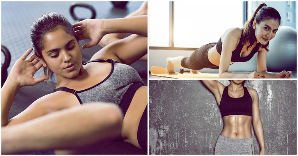 Adiós al exceso de grasa en tu abdomen con estos ejercicios