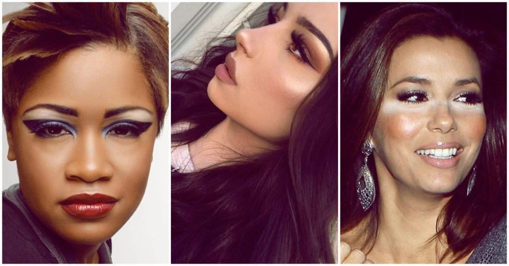 Errores que cometen las chicas morenitas cuando se maquillan
