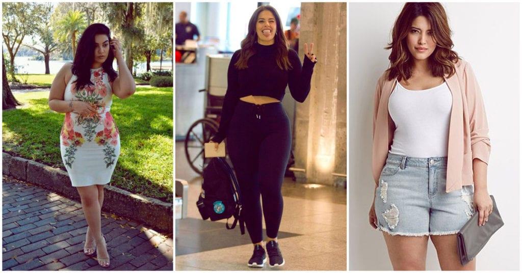 Looks casuales para chicas curvy que puedes usar todos los días para verte fashion