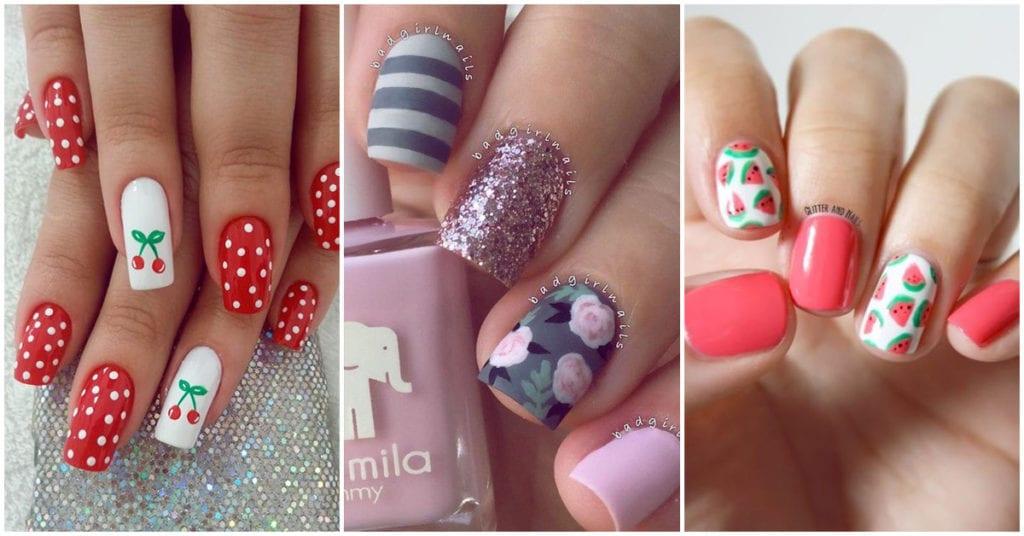 Diferentes estilos de uñas para lucir esta primavera