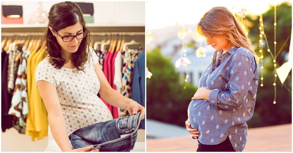 Errores que cometen las embarazadas al comprar su ropa en esta etapa