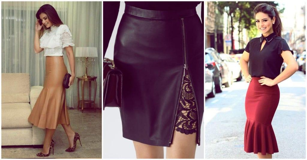 Faldas de estilo dramático que no pueden faltar en tu clóset