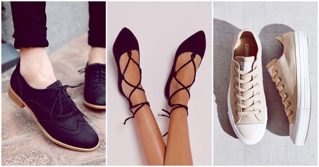 Zapatos bajitos y bonitos para lucir a la moda