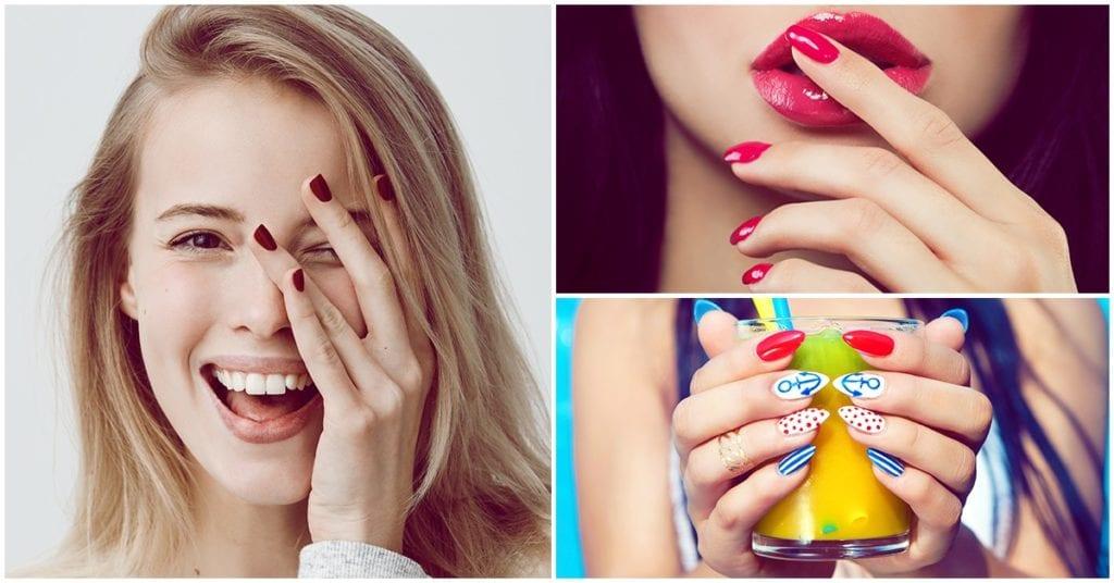 Todo lo que no debes hacer para no dañar la salud de tus uñas