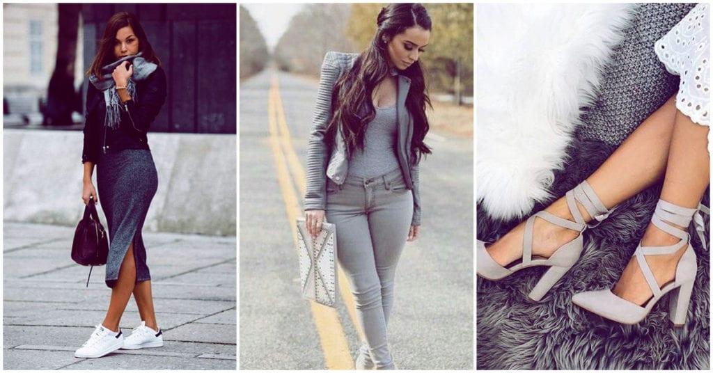 Cómo llevar el gris como una mujer super sofisticada