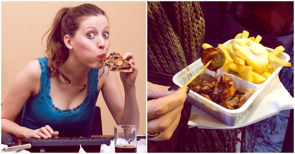 No permitas que el estrés te haga comer de más