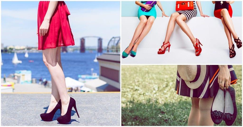 Zapatos que puedes combinar con tus faldas