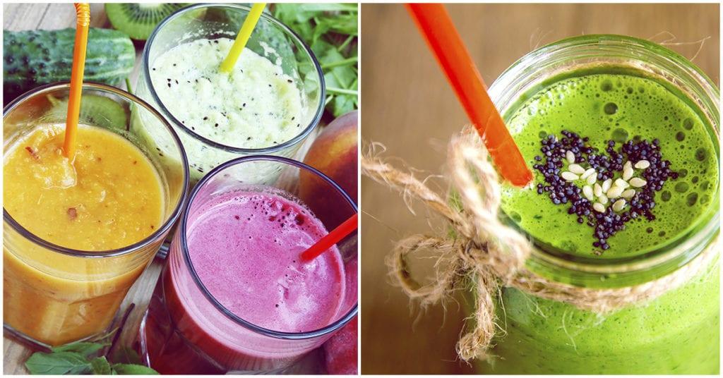Bebidas para desintoxicar tu organismo de los excesos de diciembre