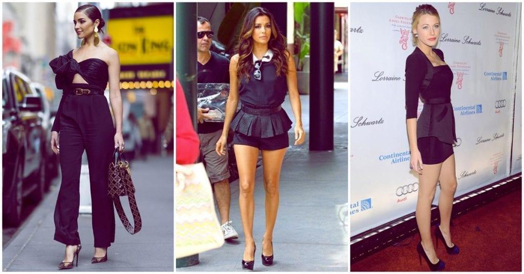 Los peores errores al vestir total black son…