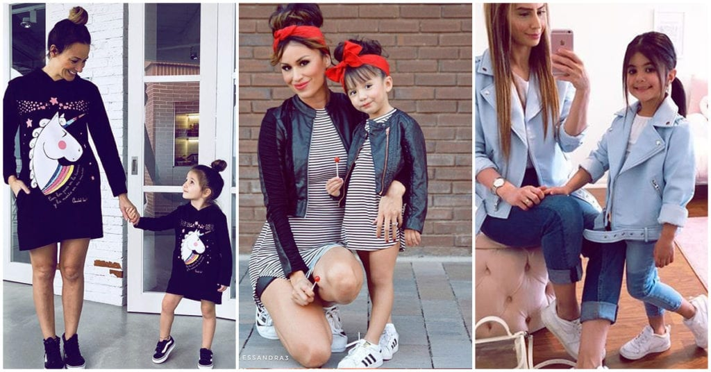 Outfits mamá e hija que te van a encantar