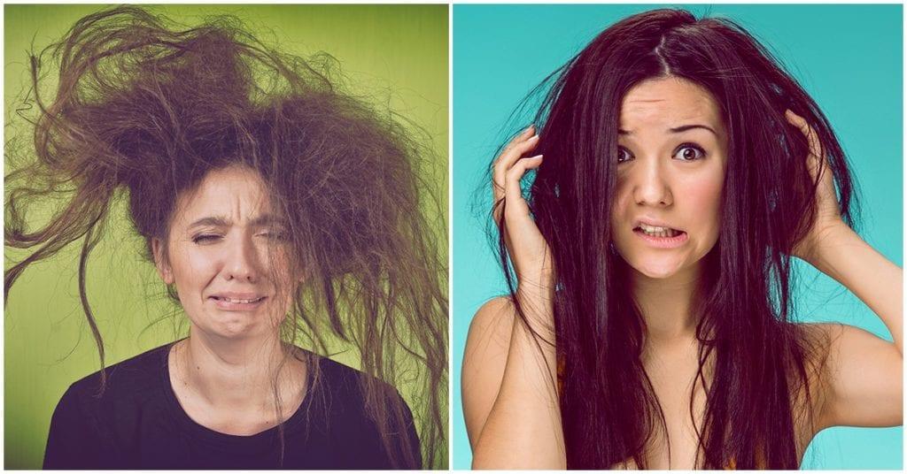 Los mejores cuidados para el cabello de estropajo
