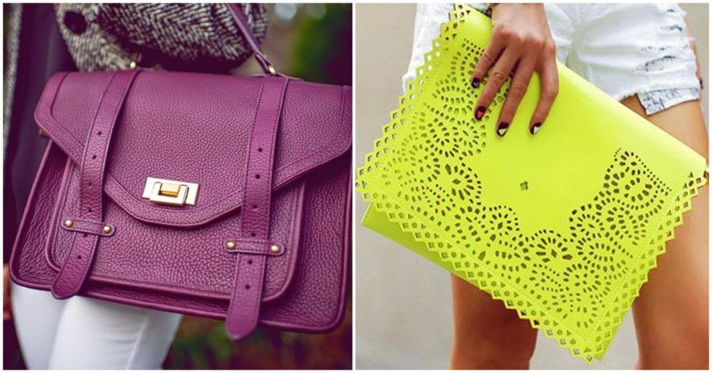 Dime qué color de bolso te gusta más y te diré algo de tu personalidad, ¡hermosos!