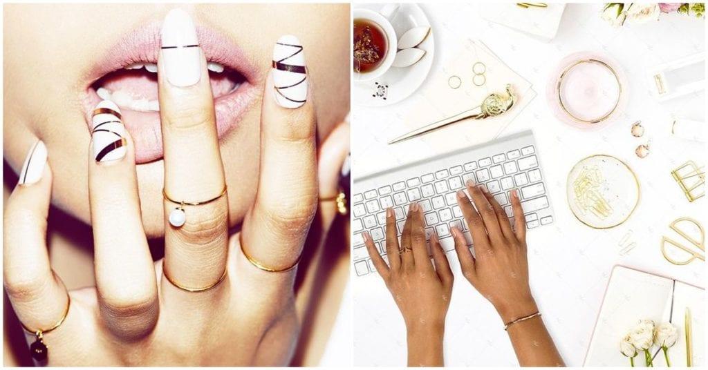 El mejor remedio para decirle ¡bye! al tono amarillento de tus uñas