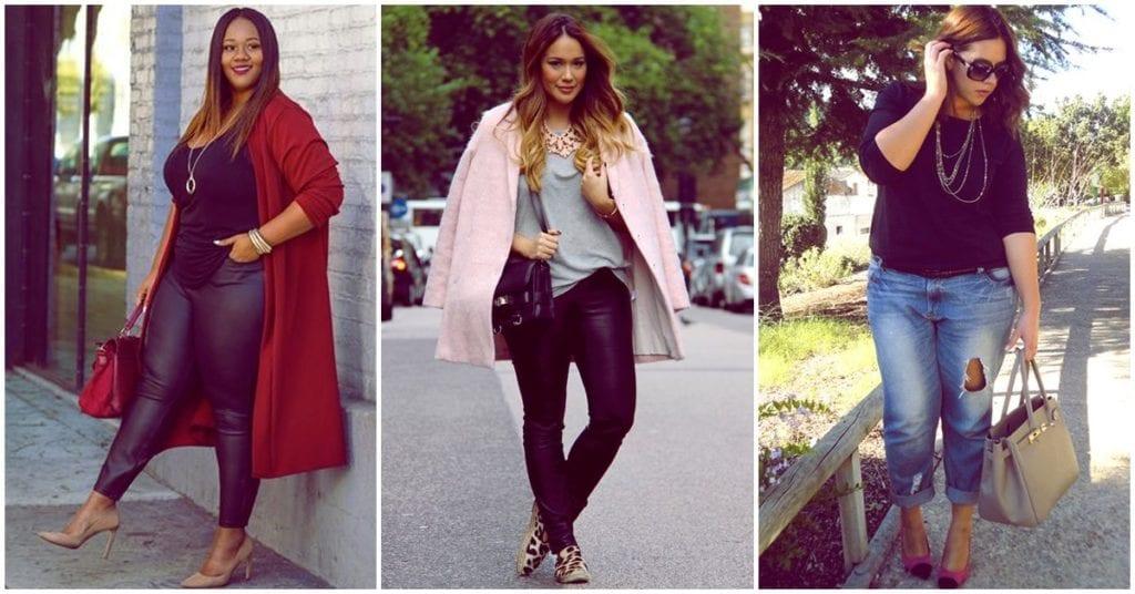 Trucos de moda para que las chicas curvy luzcan como diosas