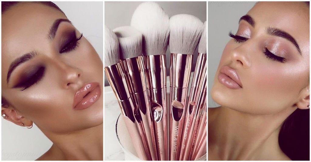 Cuáles son y cómo se usan las brochas para el blush y el contour