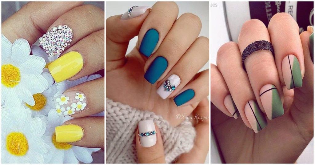 Diseños de uñas increíbles para recibir a la primavera; ¡me encantan!
