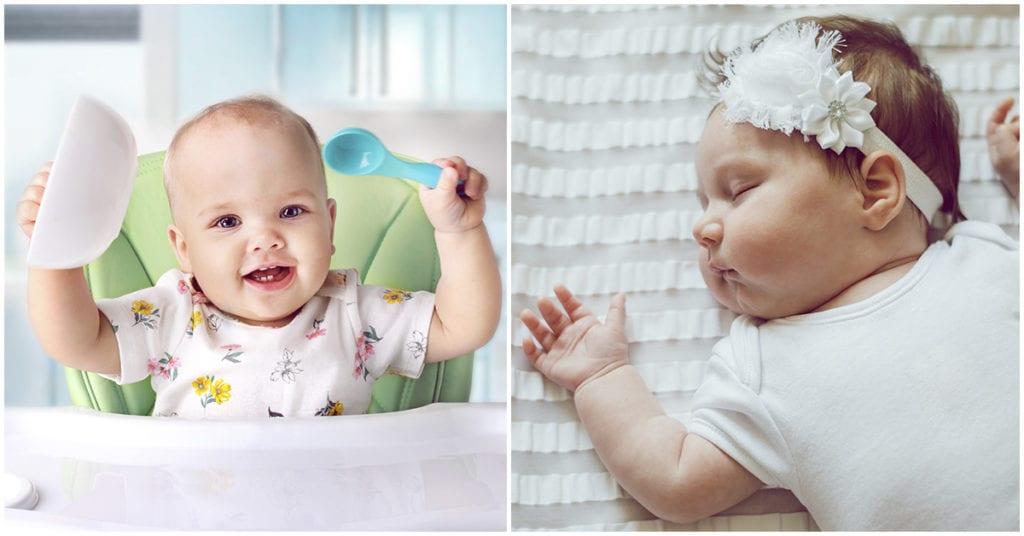 Bebés gorditos: ¿qué pasa cuando el tuyo no lo es?
