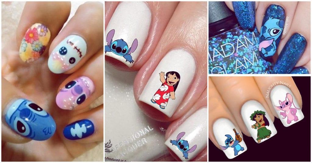 Los mejores diseños de uñas para las amantes de Stitch