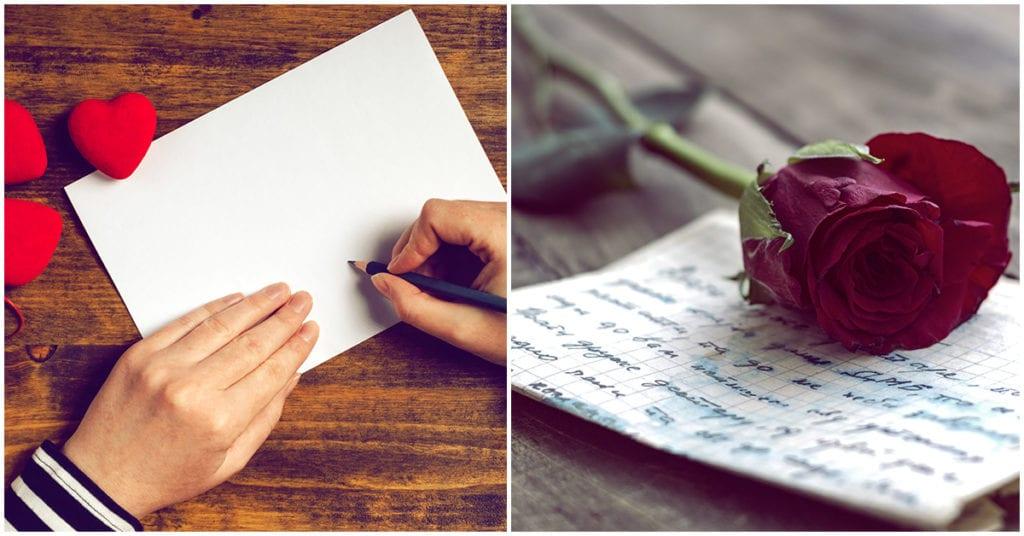 Cómo hacer tu primera carta de amor